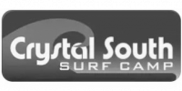 Crystal South Surf Camp logo